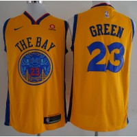 Draymond Green Golden State Warriors City Edition 2017-18 NBA X Nike Swingman Jersey