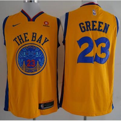 Draymond Green Golden State Warriors City Edition 2017-18 NBA X Nike Swingman Jersey