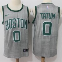 Jayson Taytum Boston Celtics City Edition 2017-18 NBA X Nike Swingman Jersey