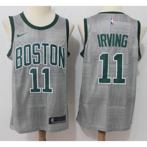 0d6dd8a27 Kyrie Irving Boston Celtics City Edition 2017-18 NBA X Nike Swingman Jersey