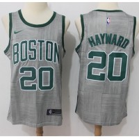Gordon Hayward Boston Celtics City Edition 2017-18 NBA X Nike Swingman Jersey