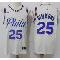 Ben Simmons Philadelphia 76ers City Edition 2017-18 NBA X Nike Swingman Jersey