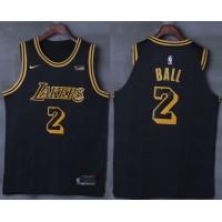 Lonzo Ball Los Angeles Lakers City Edition 2017-18 NBA X Nike Swingman Jersey