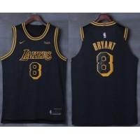 Kobe Bryant No.8 Los Angeles Lakers City Edition 2017-18 NBA X Nike Swingman Jersey