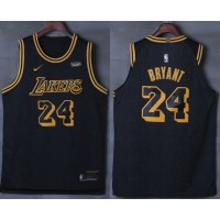 Kobe Bryant No.24 Los Angeles Lakers City Edition 2017-18 NBA X Nike Swingman Jersey