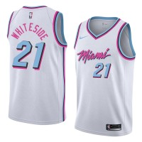 Hassan Whiteside Miami Heat City Edition 2017-18 NBA X Nike Swingman Jersey