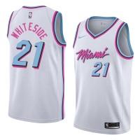 Hassan Whiteside Miami Heat City Edition 2017-18 NBA X Nike Swingman Jersey