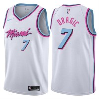 Goran Dragic Miami Heat City Edition 2017-18 NBA X Nike Swingman Jersey