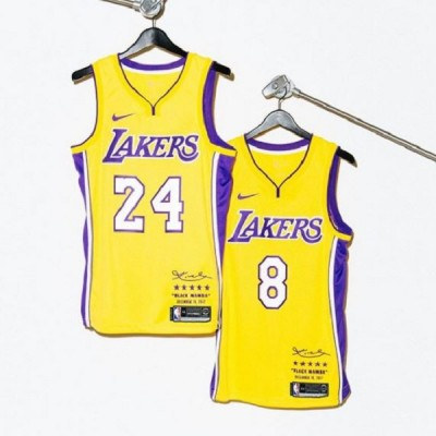 Kobe Bryant NBA X Nike Undefeated Special Edition Number Retirement Jerseys