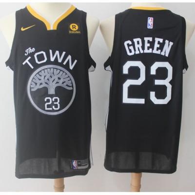 Draymond Green Golden State Warriors Black 2017-18 NBA X Nike Swingman Jersey