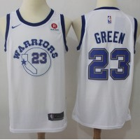 Draymond Green Golden State Warriors Retro White 2017-18 NBA X Nike Swingman Jersey