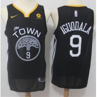 Andre Iguodala Golden State Warriors Black 2017-18 NBA X Nike Swingman Jersey