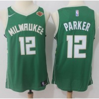 Jabari Parker Milwaukee Bucks Green 2017-18 NBA X Nike Swingman Jersey
