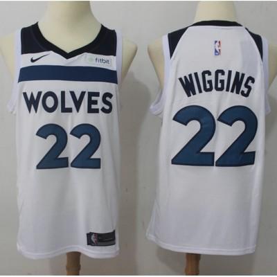 Andrew Wiggins Minnesota Timberwolves White 2017-18 NBA X Nike Swingman Jersey