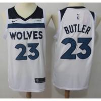 Jimmy Butler Minnesota Timberwolves White 2017-18 NBA X Nike Swingman Jersey