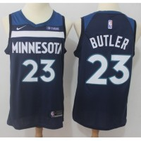 Jimmy Butler Minnesota Timberwolves Blue 2017-18 NBA X Nike Swingman Jersey
