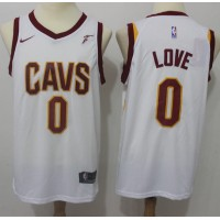 Kevin Love Cleveland Cavaliers White 2017-18 NBA X Nike Swingman Jersey
