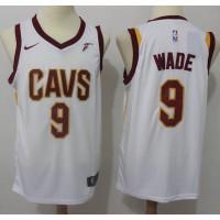 Dwyane Wade Cleveland Cavaliers White 2017-18 NBA X Nike Swingman Jersey