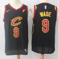 Dwyane Wade Cleveland Cavaliers Black 2017-18 NBA X Nike Swingman Jersey