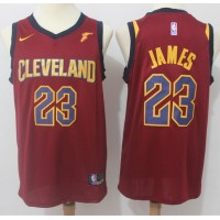 LeBron James Cleveland Cavaliers Red 2017-18 NBA X Nike Swingman Jersey