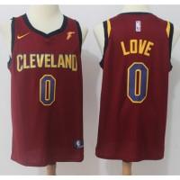 Kevin Love Cleveland Cavaliers Red 2017-18 NBA X Nike Swingman Jersey