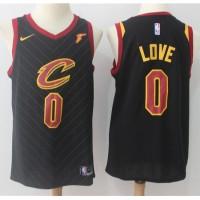 Kevin Love Cleveland Cavaliers Black 2017-18 NBA X Nike Swingman Jersey