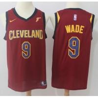 Dwyane Wade Cleveland Cavaliers Red 2017-18 NBA X Nike Swingman Jersey