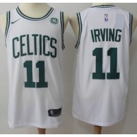 Kyrie Irving Boston Celtics White 2017-18 NBA X Nike Swingman Jersey