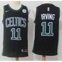 Kyrie Irving Boston Celtics Black 2017-18 NBA X Nike Swingman Jersey