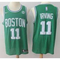 Kyrie Irving Boston Celtics Green 2017-18 NBA X Nike Swingman Jersey
