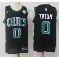 Jayson Tatum Boston Celtics Black 2017-18 NBA X Nike Swingman Jersey