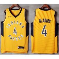 Victor Oladipo Indiana Pacers Yellow 2017-18 NBA X Nike Swingman Jersey