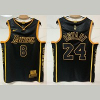**Kobe Bryant Commemorative Retirement Achievement Patches Limited Edition Jersey** Front #8 Back #24