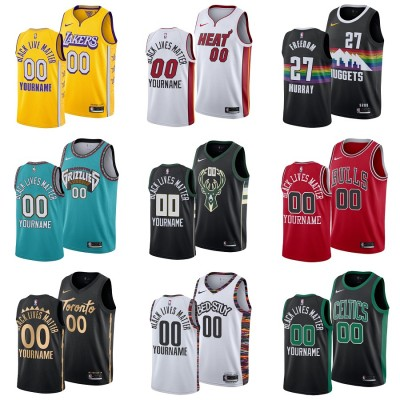 **Social Justice Message Jerseys** Customizable Names and Numbers