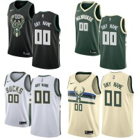 Milwaukee Bucks Customizable Jerseys