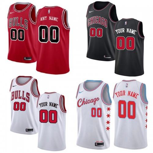 9f6b9049a Chicago Bulls Customizable Jerseys