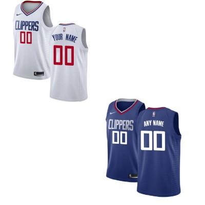 Los Angeles Clippers Customizable Jerseys