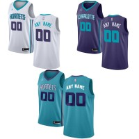 Charlotte Hornets Customizable Jerseys