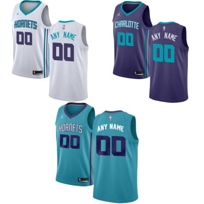 Charlotte Hornets Customizable Jerseys