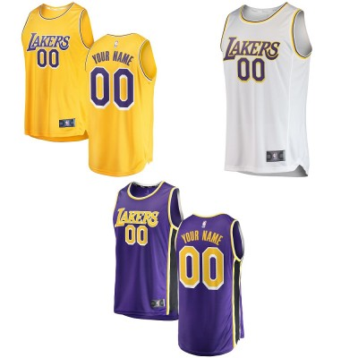 Los Angeles Lakers 2019 Customizable Jerseys
