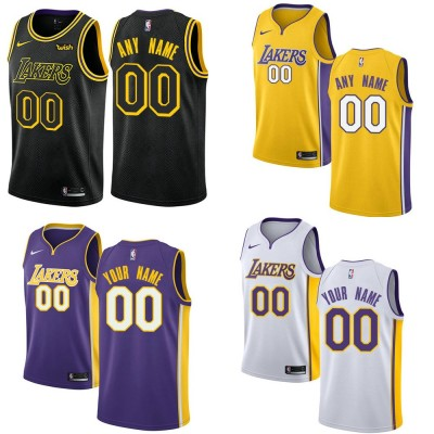 Los Angeles Lakers Customizable Jerseys