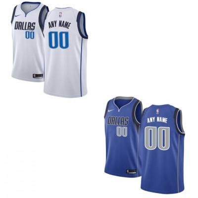 Dallas Mavericks Customizable Jerseys