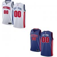 Detroit Pistons Customizable Jerseys