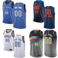 Oklahoma City Thunder Customizable Jerseys