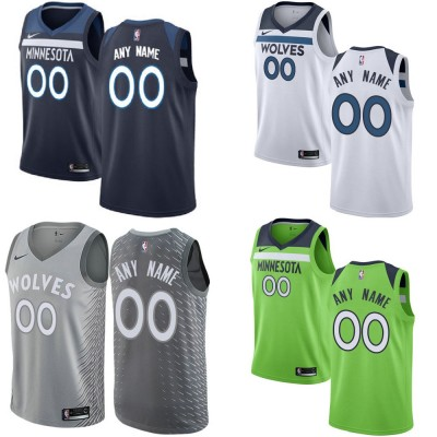 Minnesota Timberwolves Customizable Jerseys