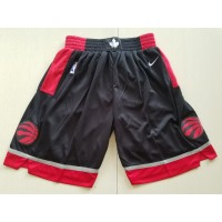 Toronto Raptors Black Basketball Shorts