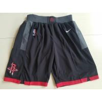 Houston Rockets Black Basketball Shorts
