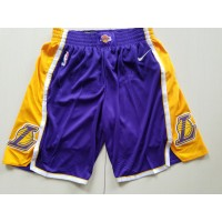 Los Angeles Lakers Purple Basketball Shorts