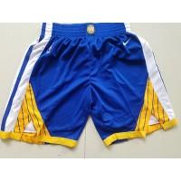 Golden State Warriors Blue Basketball Shorts