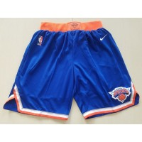 New York Knicks Blue Basketball Shorts